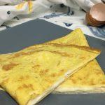 Frittata ripiena di mozzarella