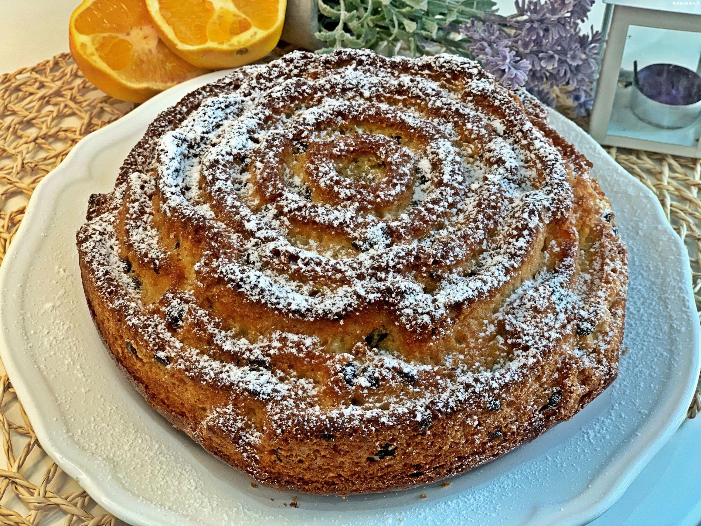 Pan d'arancio con gocce di Cioccolato Bimby