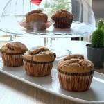 Muffin pandoro e gocce di cioccolato Bimby