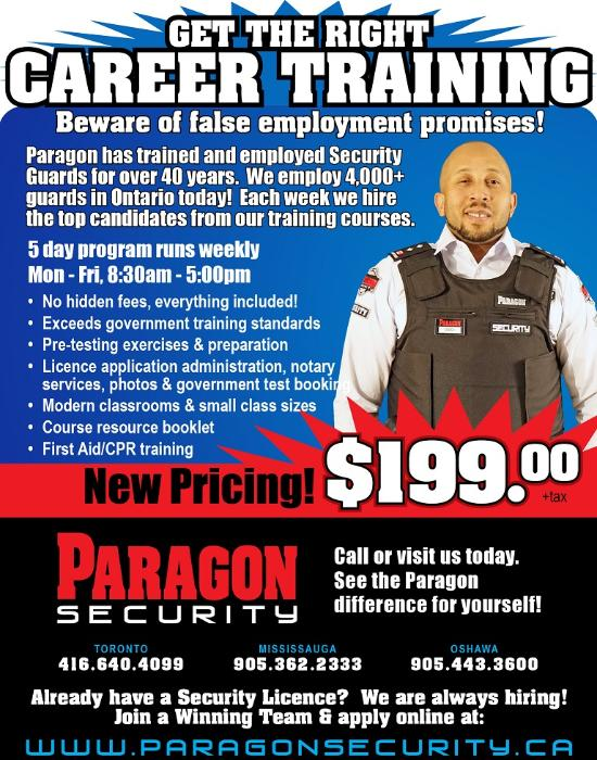 Paragon Security Jobs