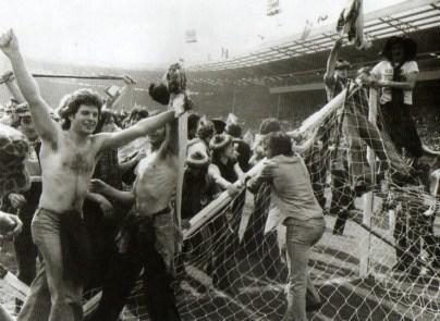 De doelpalen knakten snel op Wembley