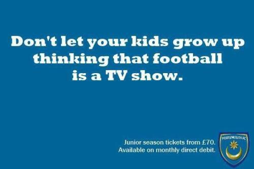 Portsmouth FC startte de campgane