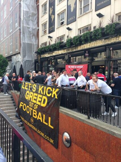 kick greed out of football