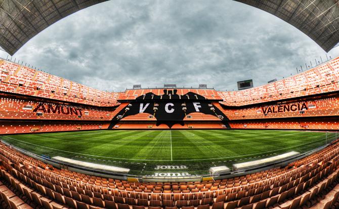 Stadion van Valencia
