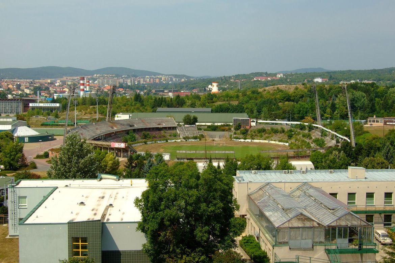 Stadion Za Luzankami FC Brno-Ponava