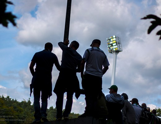 Bekervoetbal: FC Homburg vs Borussia Monchengladbach, Waldstadion Homburg