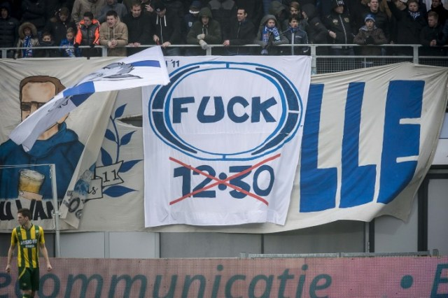 Fuck 12:30 FOX Sports PEC Zwolle