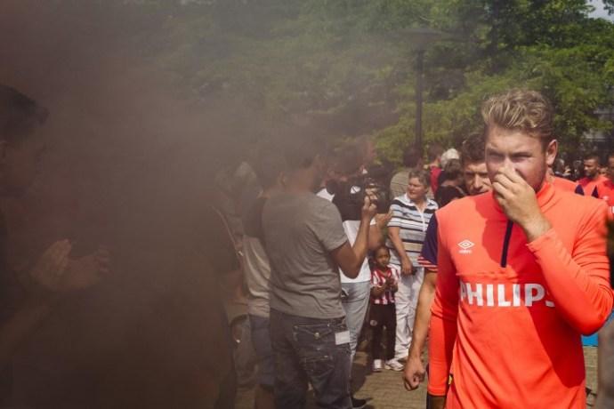 Eerste training PSV