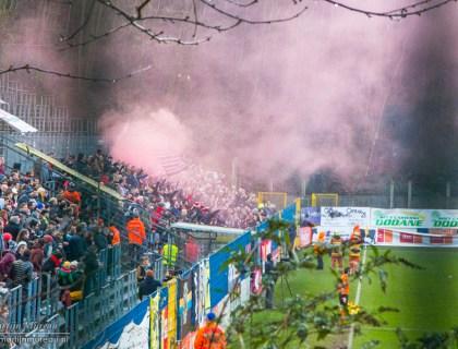 RWD Molenbeek fans vieren feest na de 0-1