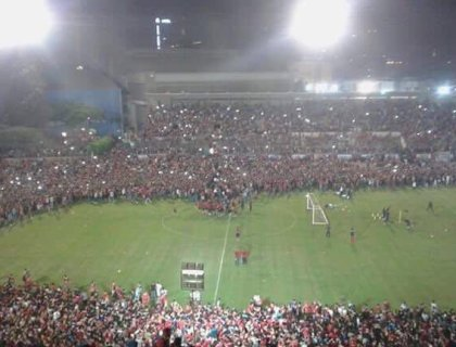 20.000 man op de training van Al Ahly Training