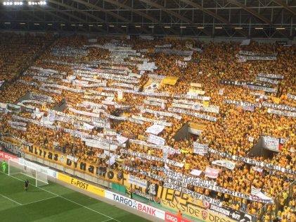 De fanatieke kern van Dynamo Dresden