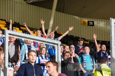 Heerenveen-fans vieren de 0-2