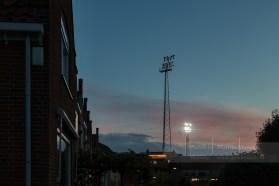 Het stadion van FC Volendam is een van de weinige stadions die nog nostalgisch in een woonwijk ligt