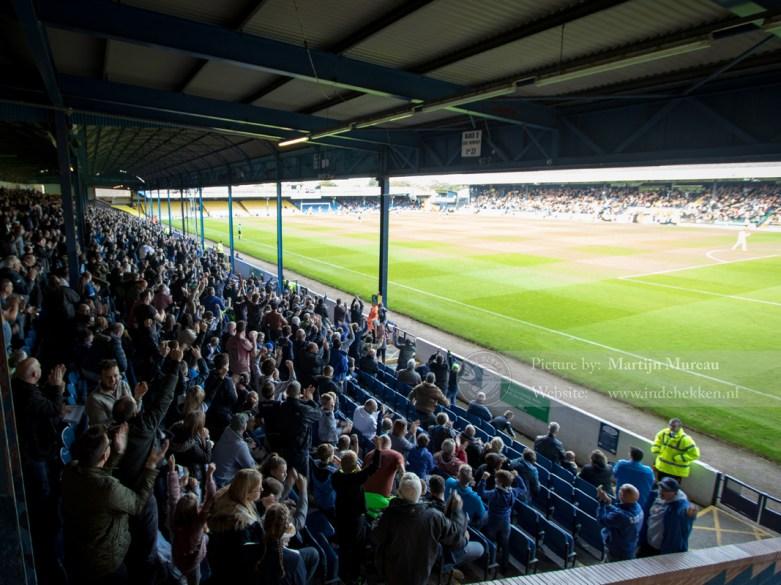 Maar tot grote vreugde van The Shrimpers scoort Southend United