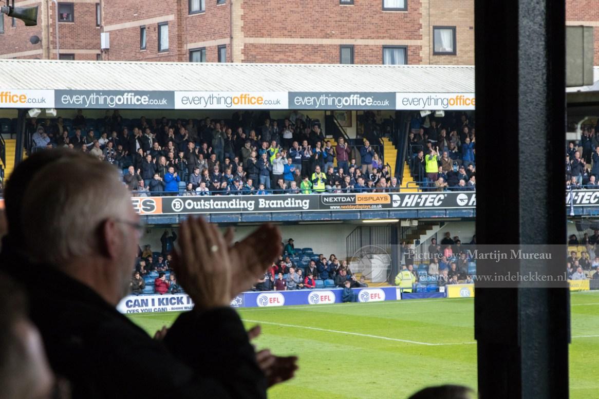 Southend United wint met 1-0!