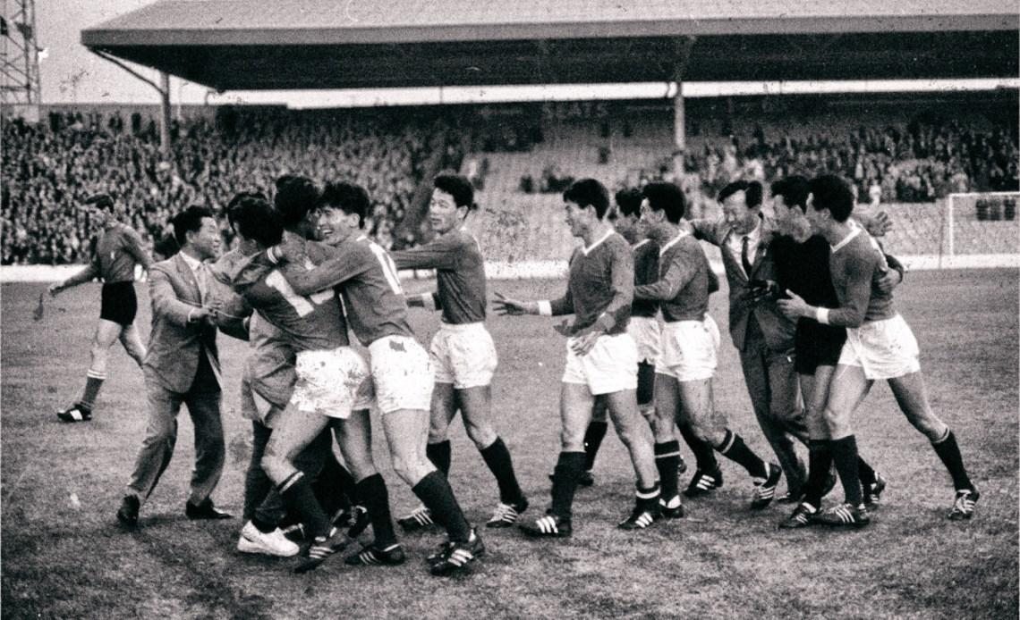 Noord Korea tijdens het WK 1966