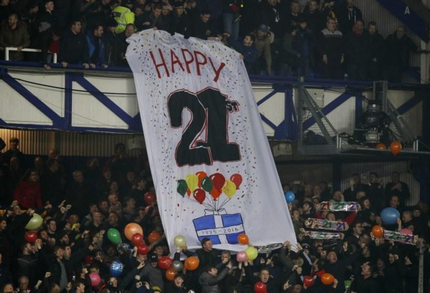 Happy 21st Everton