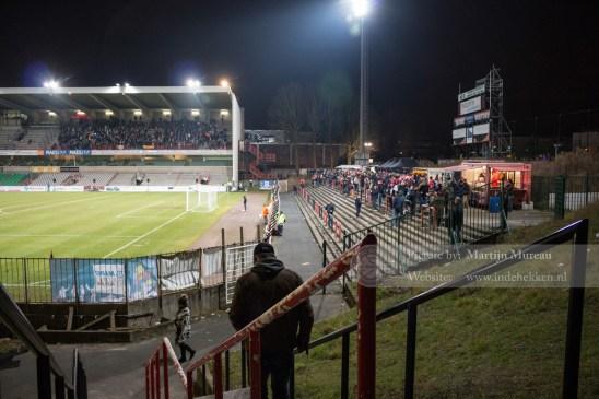 Het Edmond Machtens Stadion, na meer dan een decennium weer thuisbasis van RWDM