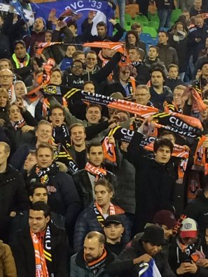 Ruim 2.500 meegereisde fans van de Jodan Boys, Foto van Milo Schoenmaker