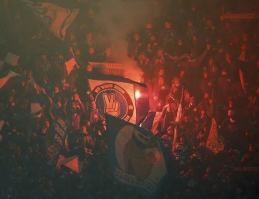 Schalke 04 op bezoek in Salzburg. Foto van Pro Shots / Action Images