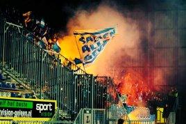 De Graafschap / Brigata Tifosi in Sittard. Foto: Twitter / Niels van Renen