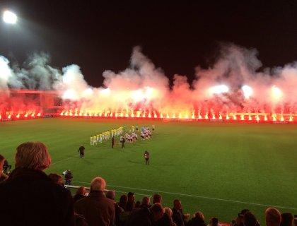 Sparta-Vitesse, foto: Martijn Krabbendam / Twitter