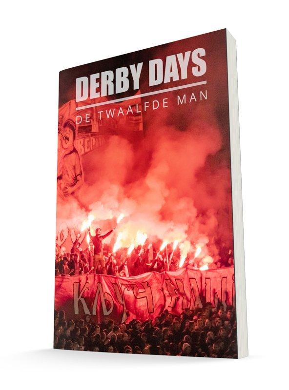 Derby Days boekomslag - auteur: De Twaalfde Man
