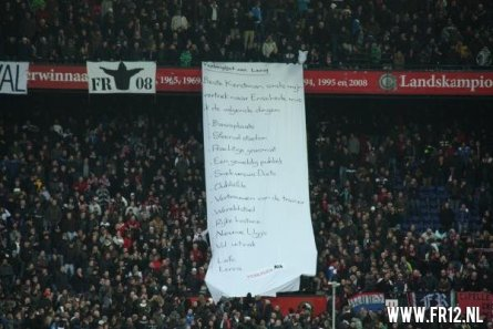 Fer terug naar Feyenoord