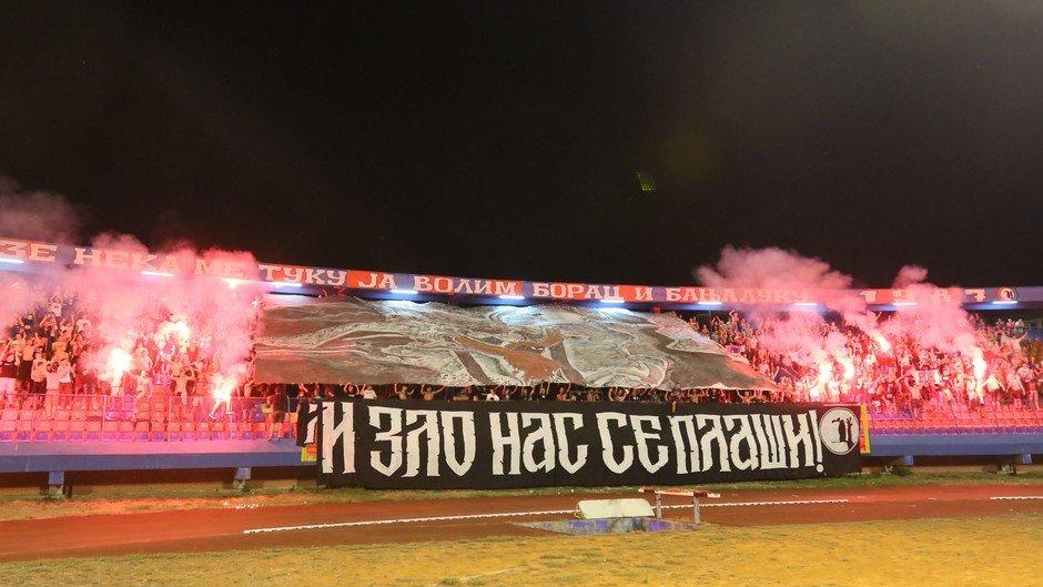 Ultras van Borac Banja Luka