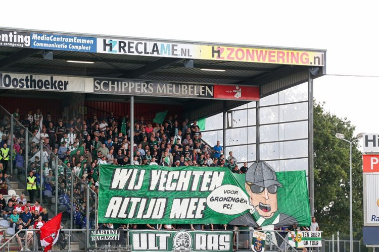 FC Groningen tijdens dé Derby van het Noorden