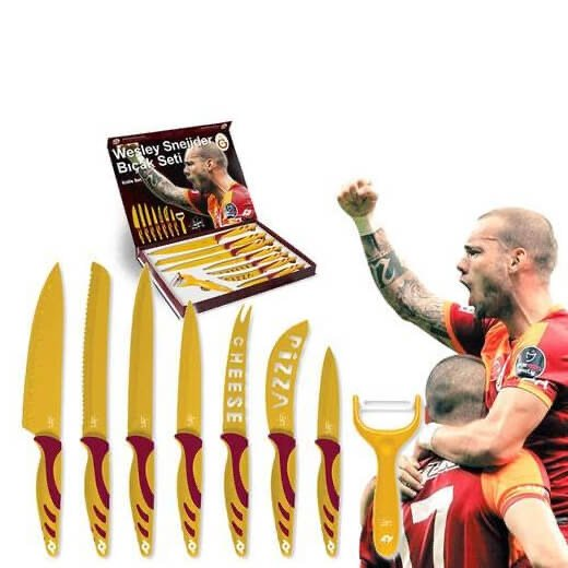 de dodelijke messenset van Sneijder