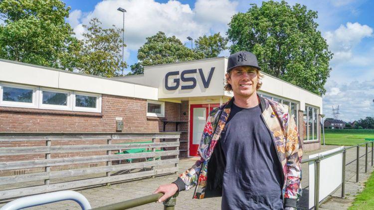 Andre Krul bij zijn jeugdclub GSV