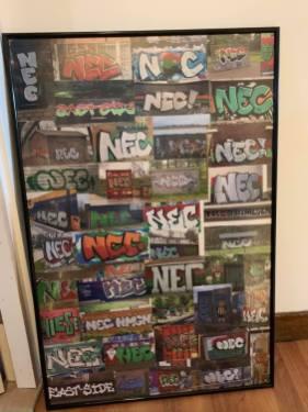 NEC graffiti verzameling