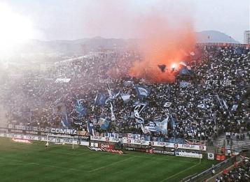 Olympique Marseille - Strasbourg 2005-2006 (via Yelpa Tribune Marseille).