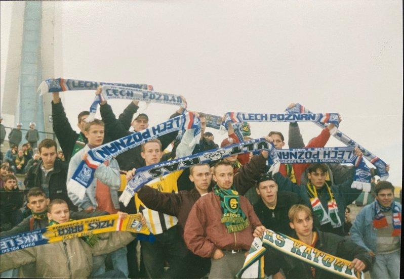 Met gestolen sjaals van Lech Poznan