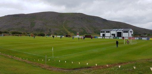 Het stadion van Magni Grenivík (Bron: Thorsteinn Gunnars)