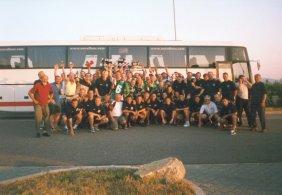 Supporters on tour (via Martin Štvrtecký en ultras.sk).