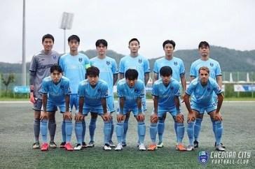 Elftal foto Cheonan City