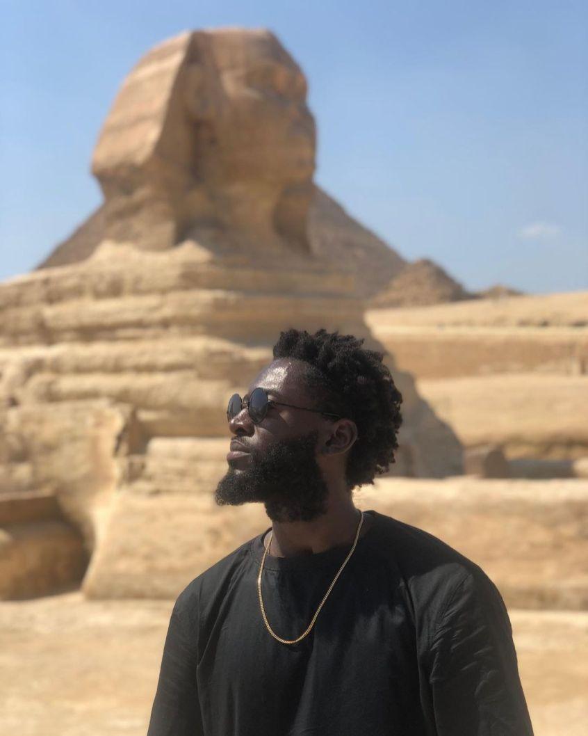 Rodney Antwi in Egypte