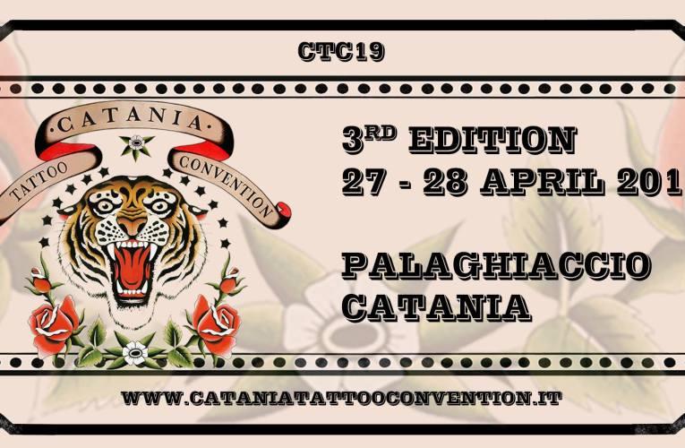 Catania Tattoo Convention alla terza edizione