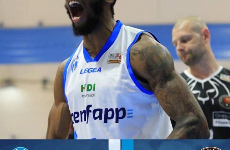 L'Orlandina basket batte Tortona 104-84 e riaggancia Roma