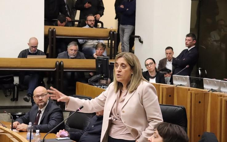 Umbria, la presidente della Regione Catiuscia Marini conferma le dimissioni