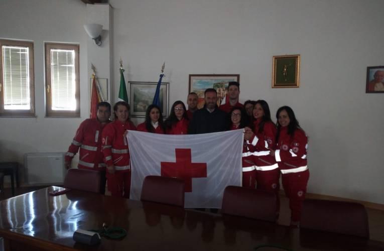 Bandiera della Croce Rossa consegnata ai sindaci del territorio Tirrenico-Nebroideo