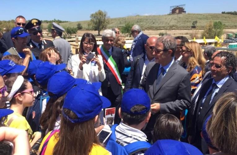 Il Presidente Musumeci in visita alla Fiera Mediterranea del Cavallo