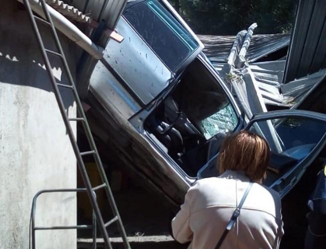 Autostrada A20 – Auto precipita, due i feriti |VIDEO