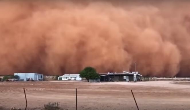 Tempesta di sabbia in Australia  |VIDEO