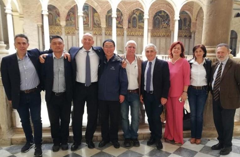 Delegazione Cinese in Sicilia
