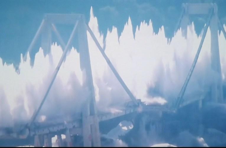 Genova, demolito il ponte Morandi|VIDEO