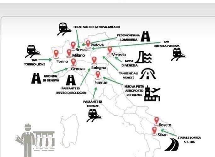 La Sicilia sarebbe fuori dal decreto sblocca cantieri