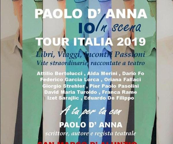 """""""Io in Scena"""" con Paolo D'Anna"""